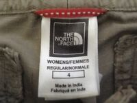NEW- Women's The North Face Flight Series 3/4 crop pants (sz 4)