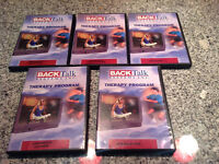 BACK TALK Professional Exercise DVDs Each