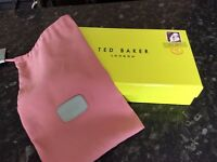 TED BAKER PURSE BOX AND RADLEY PURSE DUSTBAG