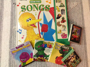 Children's Books Sesame Street Barney