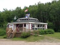 Cabot Trail building and land