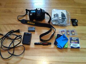 Used Nikon D90 DSLR camera body