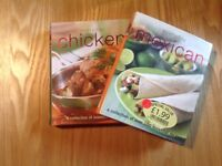 2 CHICKEN AND MEXICAN BOOK WITH OVER 100 RECIPES