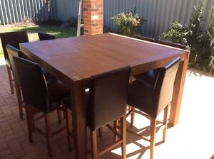Free Delivery Silverwood 9 Piece Bar Suite Perth Perth City Area Preview