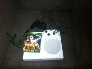 Xbox one s with games and 500 gb harddrive