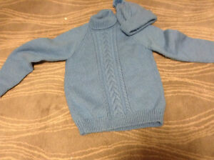 Hand knitted items