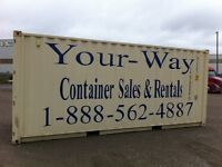 Orangeville storage containers from 80.00 per month