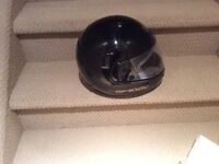 Black Shoei Helmet