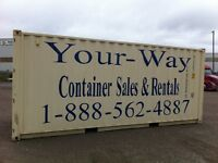 Barrie, Orillia, Muskoka storage containers from 80.00 per month