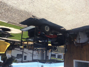 Trailer and Lot for sale