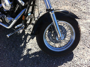 Harley Davidson Custom Cruiser Show Bike Dyna Wide Glide Peterborough Peterborough Area image 3