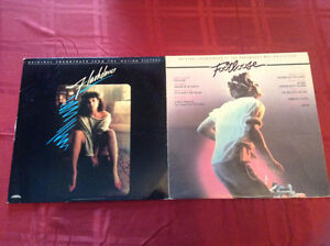 DISQUES VINYLES 33 TOURS FLASHDANCE ET FOOTLOOSE