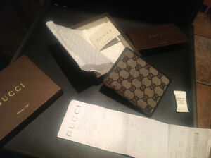 GUCCI WALLET 100% AUTHENTIC WITH ORIGINAL RECEIPT