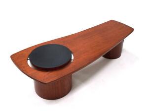 Table de salon midcentury en teck Table de salon en teck, RS