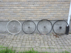 """Wheels 26"""" and 29er"""