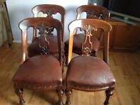 Antique chairs 1850