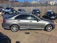 Mercedes-Benz C250 2.1CDI Blue F auto 2010MY CDI Sport **ONLY 56000 MILES**