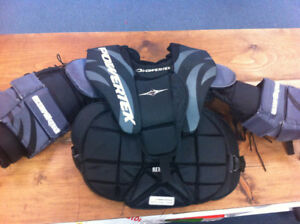 Goalie chest protector