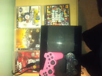PS3 250GB + GAMES + CONTROLLERS