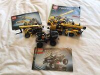 Lego technic 8066 8045 8067