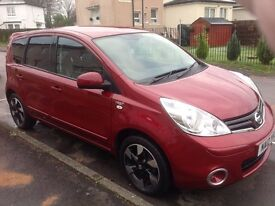 nissan note special addition automatic genuine 12000 miles