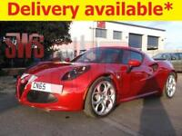 2015 Alfa Romeo 4C TBi S-A 1.7 DAMAGED REPAIRABLE SALVAGE