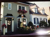 Pointe-Claire, maison historique dans le village