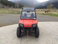 2009 RZR side by side in excellent condition