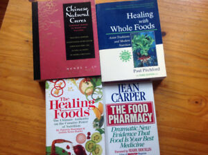 Healing with Food Books - set of 4