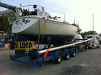 Boat Transport  - Power and Sail