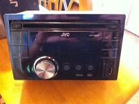 New JVC radio and Sony amp