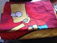 Simpsons single duvet set