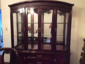 For sale formal dining room set. In good condition