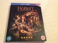 Hobbit on blue ray with digital ultraviolet