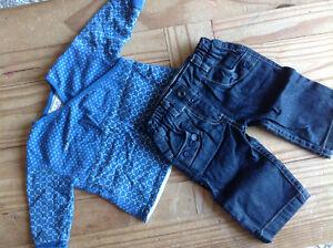 Vêtements fille 6 mois mexx, souris mini, gap