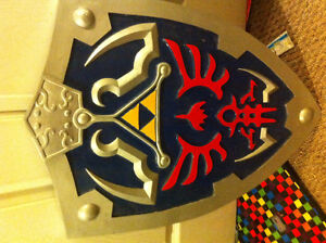 Legend of Zelda Master Shield SELL ASAP! CONTACT YOUR OFFER Kitchener / Waterloo Kitchener Area image 1