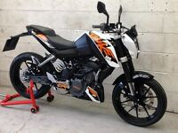 KTM Duke 125 ABS Only 2689miles. Delivery Available *Credit & Debit Cards Accepted*