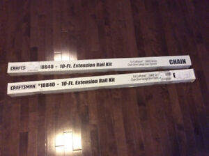 18840 10 ft. Extension Rail Kit for Craftsman Chain Drive Garage