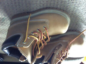 Construction Boots - Kids size 8.5