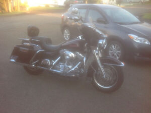 2005 Harley Davidson FLHTI with Big Bore and Cams