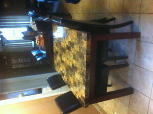 Faux Marble  table London Ontario image 1