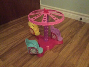 Barbie Twirl and Spin Ride