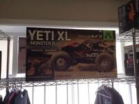 YETI XL MONSTER BUGGY 1/8 SCALE BRUSHLESS 4WD