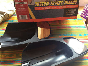 Custom Towing Mirror - Black