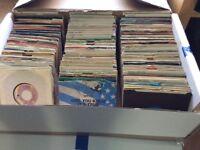 "Vinyl 7"" record collection"