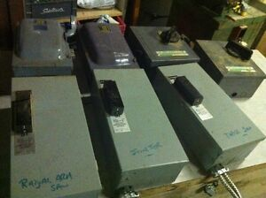 Electrical Safety Switches – Industrial Machines - $50.00 each