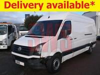 2016 Volkswagen Crafter CR35 TDi 2.0 DAMAGED REPAIRABLE SALVAGE