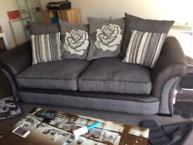 Piper 3 Seater Sofa scatter back