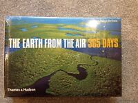 The Earth from the air 365 days book by Yann Arthus- Bertand brand new and sealed