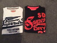 Men's superdry tshirts size small